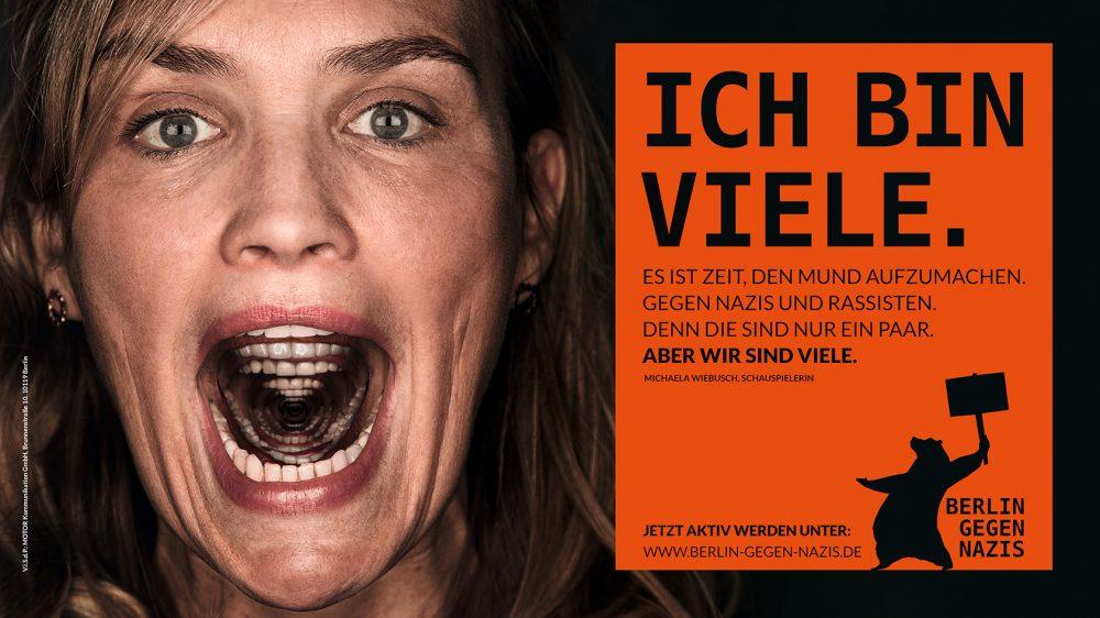 Berlin gegen Nazis - MOTOR Kommunikation